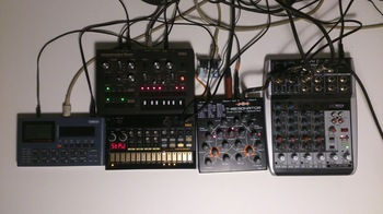 table de mixage korg volca