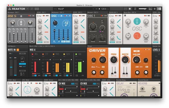 Native Instruments Reaktor 6 : Reaktor 6014