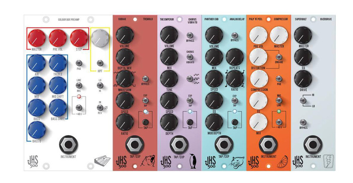 JHS Pedals Colour Box 500