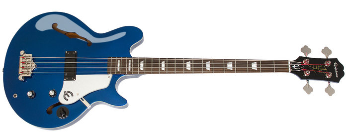 Epiphone Ltd. Ed. Jack Casady Blue Royale Bass : POP JackBR