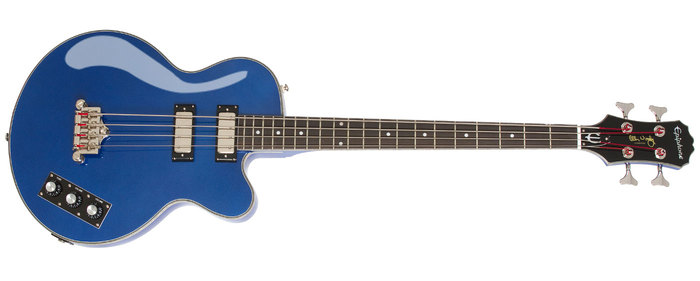 Epiphone Ltd. Ed. Allen Woody Rumblekat Blue Royale : POP WoodyBR