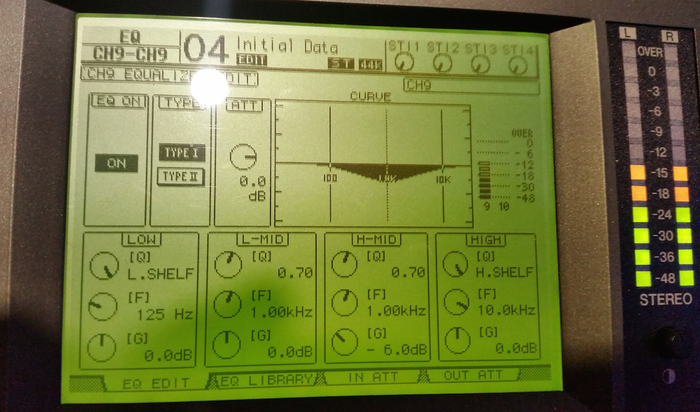 Yamaha 01V96i : 58 Eq 01v96i
