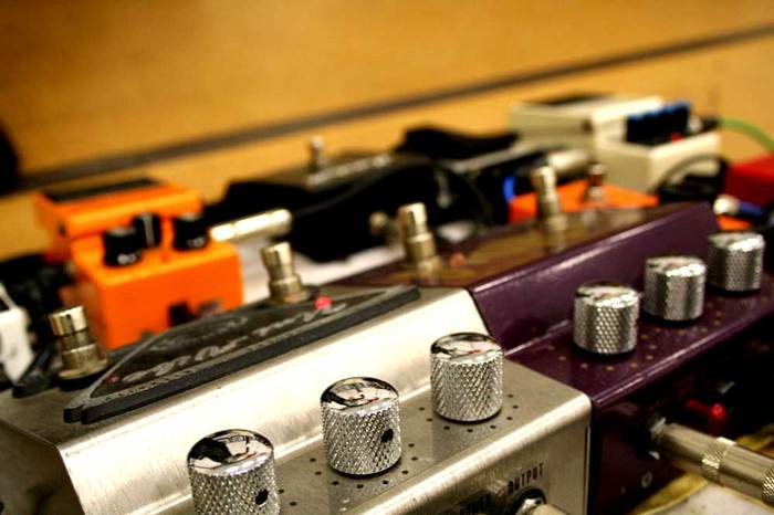Pedal rig - Mike Schmid