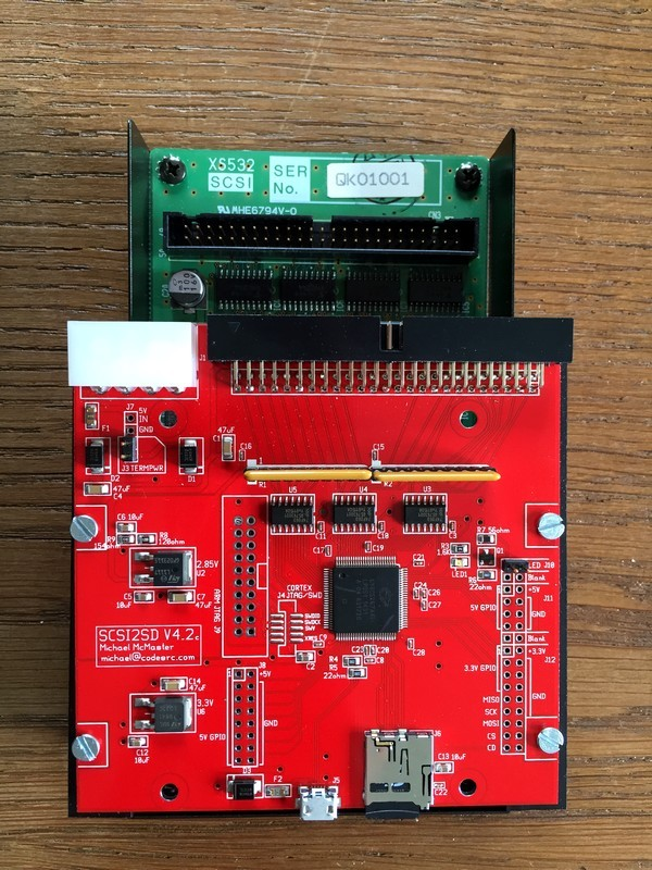 02 ASIB1 + SCSI2SD LR