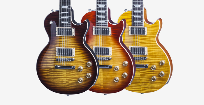 Gibson Les Paul Standard 7 String Limited : LPS716TOCH1 FINISHES FAMILY