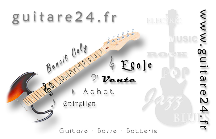 Fender Mustang [1964-1982] guitare24.fr images