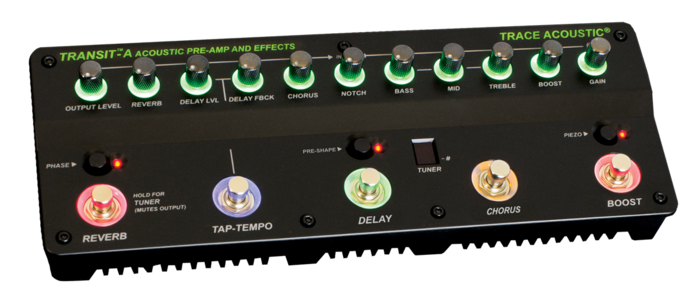 Trace Elliot Transit A Acoustic Pre-amp & Effects : transit a front