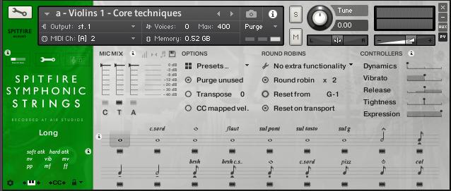 Spitfire Audio Symphonic Strings : Spitfire Audio Symphonic Strings (63107)