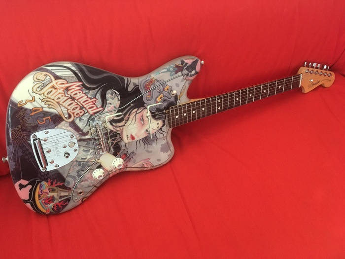 Jazzmaster Am Pro   Mondial Tatouage 2017.JPG