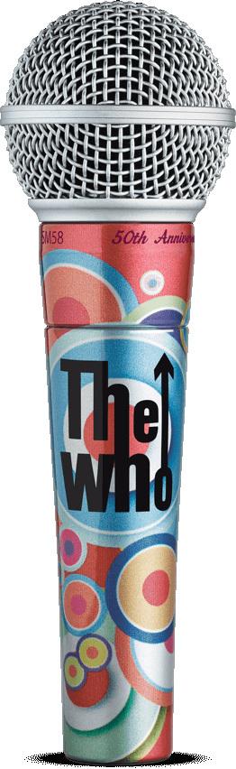 the who SM58