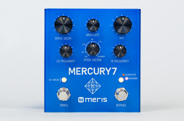 Meris Mercury7 Reverb Pedal : Meris Mercury7 Reverb Pedal (87779)