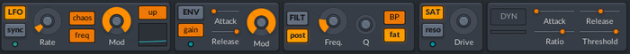 lmdsp Superchord : Section d'effets