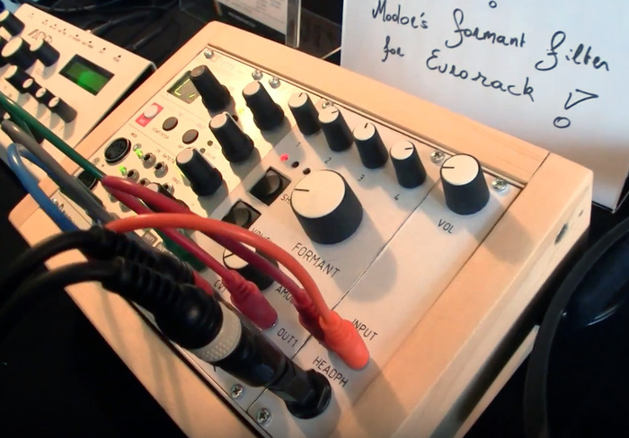 Modor Music : Modor Formant Filter prototype@Superbooth17