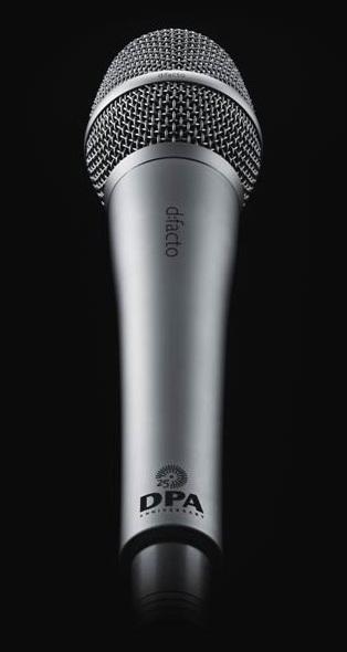 DPA Microphones dfacto 25th Anniversary