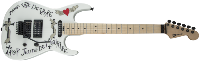 Charvel Warren DeMartini USA Signature Frenchie : Charvel Warren DeMartini USA Signature Frenchie (20415)