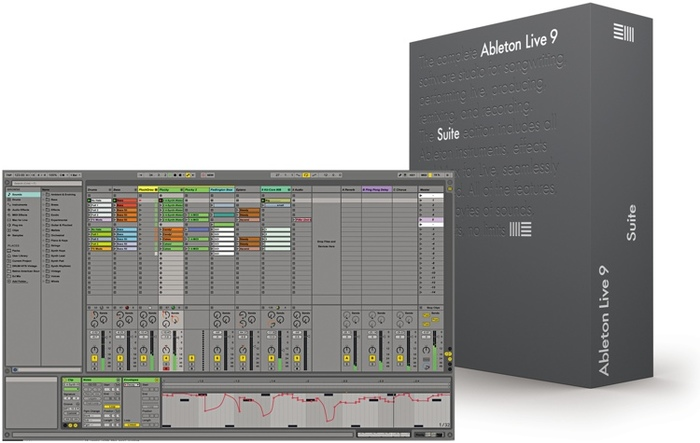 Ableton Live 9 Suite : ableton live 9 suite 1846256