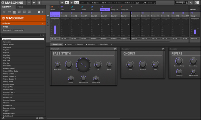 Maschine 2 Bass Synth