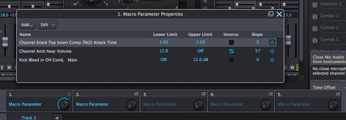 Toontrack Superior Drummer 3 : macros