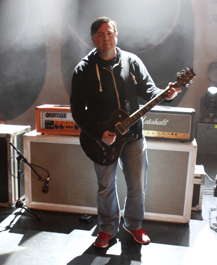Tim Sult with amp setup.JPG