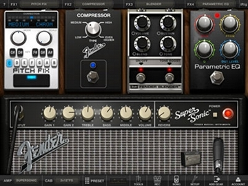 AmpliTube 2.2 for iPad - Pitch Fix