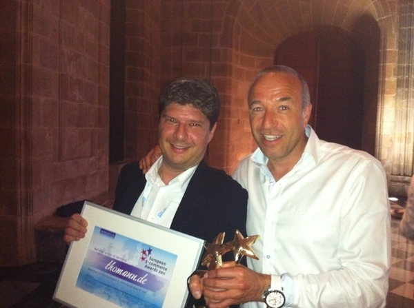 Thomann.de wint de 1e European E-commerce Award 2011 #ges2011 #ges11