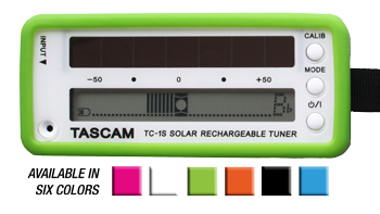 TASCAM TC-1S front view