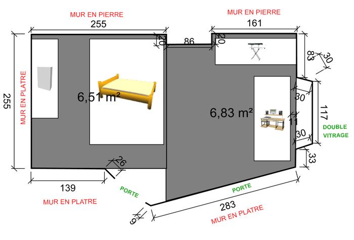 isolation phonique home studio chambre pi ce de 13m. Black Bedroom Furniture Sets. Home Design Ideas