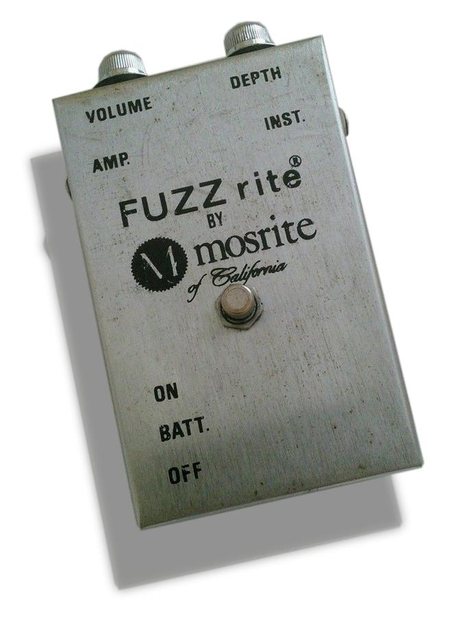 Fuzz guitare : Story Mosrite Fuzzrite