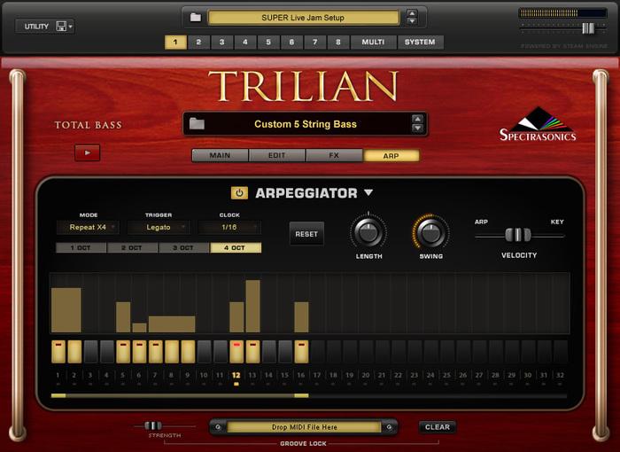 trilian arp
