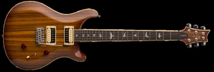 PRS SE Custom 24 Zebrawood : PRS SE Custom 24 Zebrawood (29465)