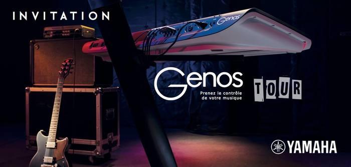 Yamaha Genos Tour