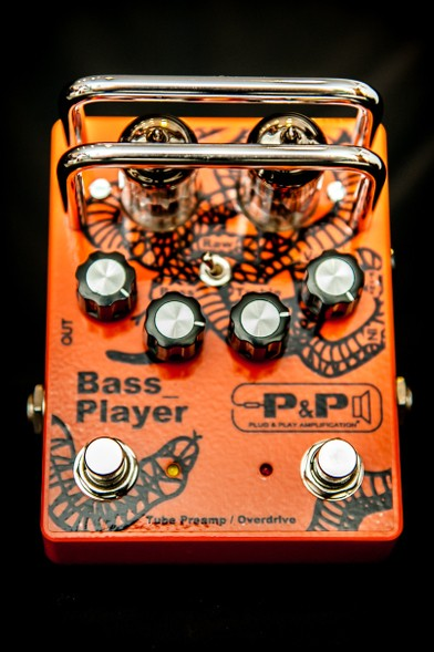 Plug & Play Amplification Bass Player : BP front site