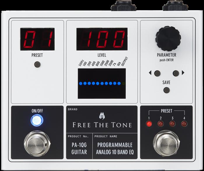 Free The Tone PA-1QG : gfront