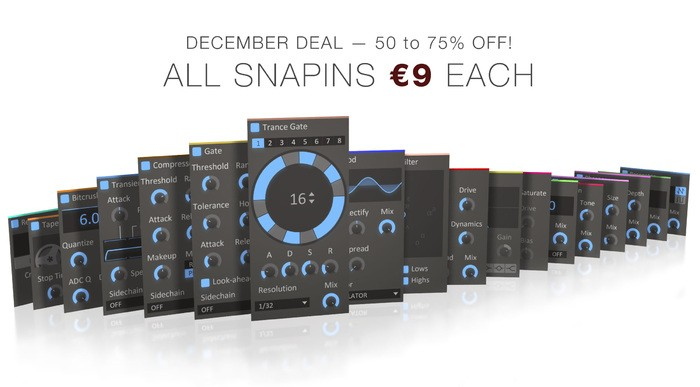 Snapins sale