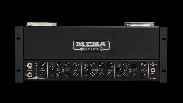 Mesa Boogie Triple Crown TC-100 Rackmount : tc100 head rackmount frt hq