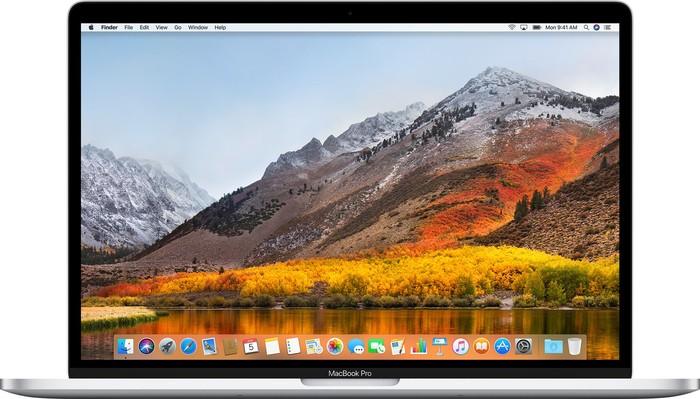 macOS High Sierra desktop MacBook Pro
