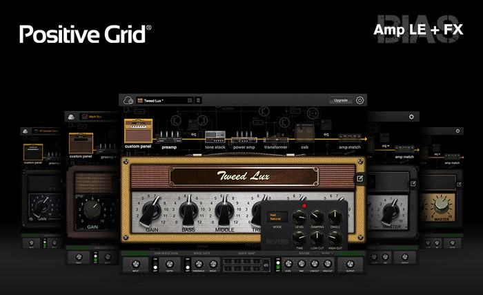 positive grid amp le and fx