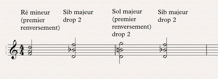 harmonisation drop