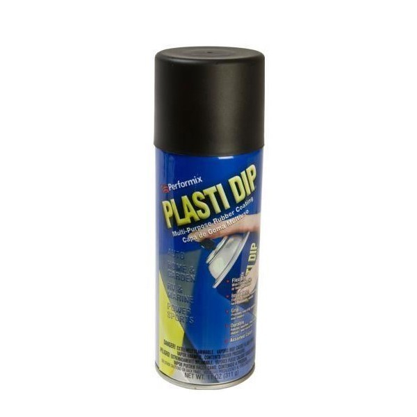 plasti dip noir mat en aerosol 400 ml