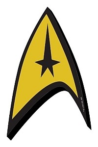 Aquarius Star Trek Starfleet logo magnet small 200x300