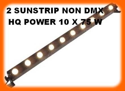hq power sunstrip blinder 10 x 75w