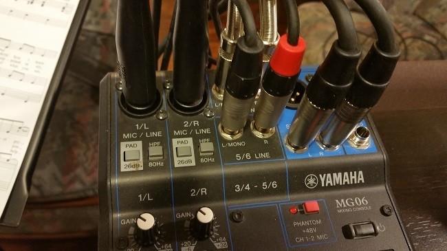 Yam MG06 entrées