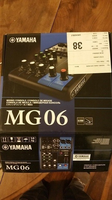 Yam MG06 boite