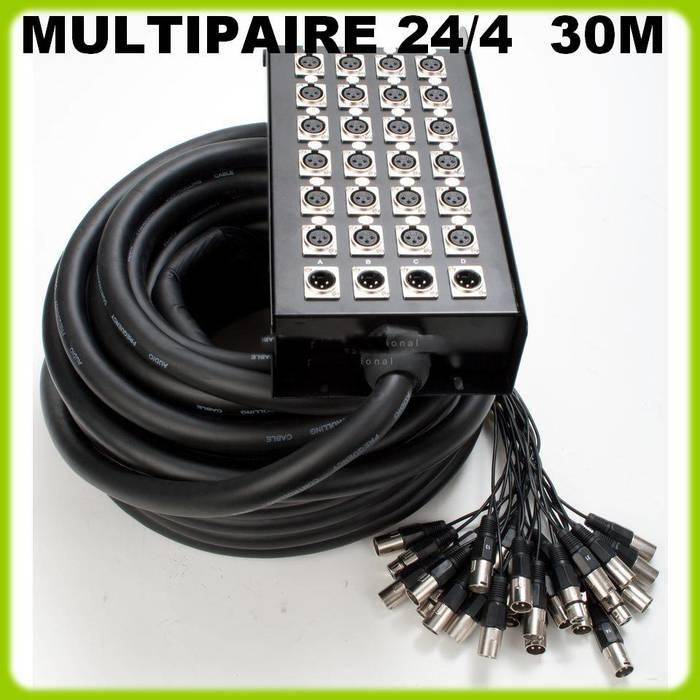 multipaire 24 4 30m boitier
