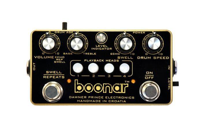 Boonar multi head drum echo front