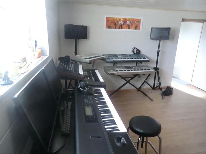 studio coin des claviers