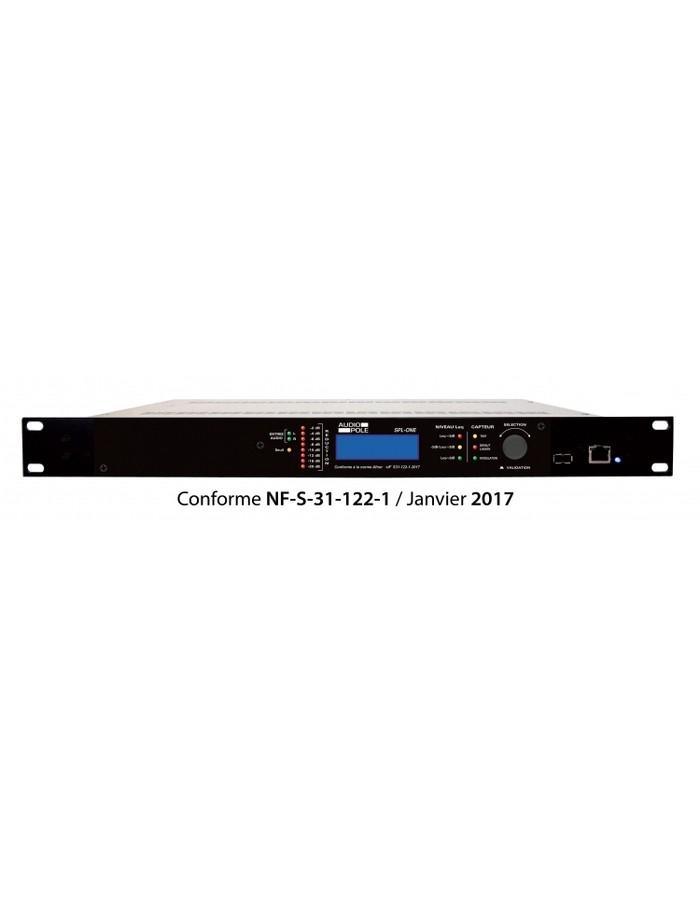 limiteur de niveau sonore niveau global capteur audiopole spl one