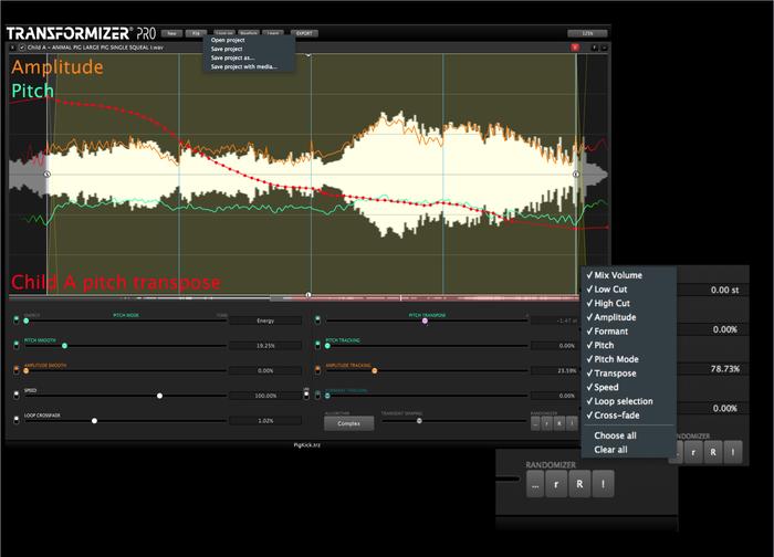 Transformizer Pro 12 GUI