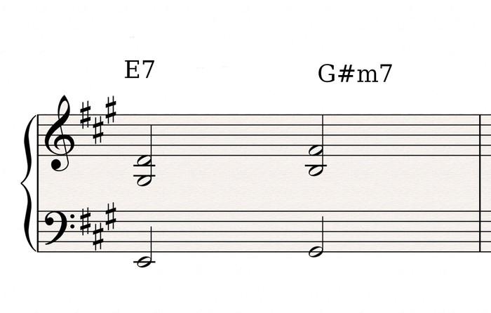 E7 G#m7 1