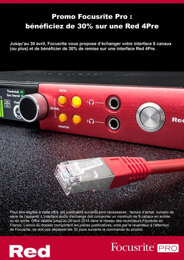 Promo Red 4Pre